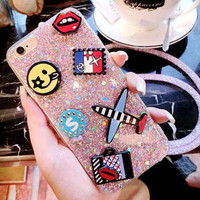 Handmade Blink Case Cover for iPhone 7 7Plus & iPhone se 5s 6 6 Plus -0322