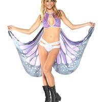 Violet Butterfly Outfit