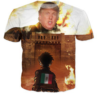 Donald Trump Attack On Titan Meme