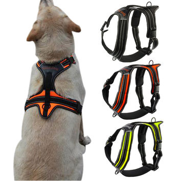 Nylon No-Pull Dog Harness Reflective Outdoor Adventure Dog Harness
