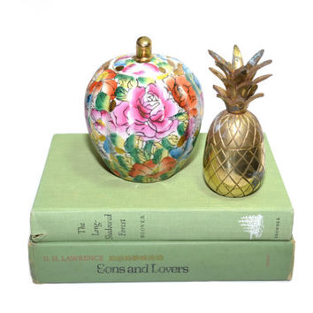 Mini Brass Pineapple Box Small Pineapple Box Mini Brass Pineapple Mini Ananas Mini Pina Petit Ananas Box