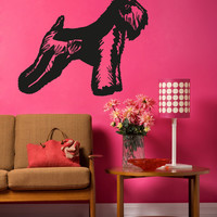 Vinyl Wall Decal Sticker Wheaten Terrier #OS_AA632