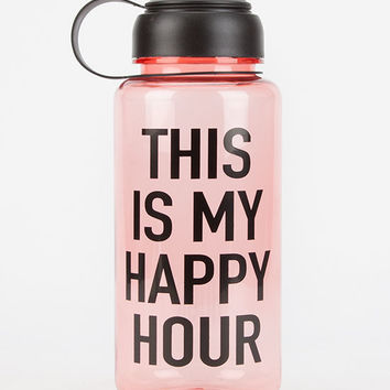Ankit Happy Hour Water Bottle Red One Size For Women 26279230001
