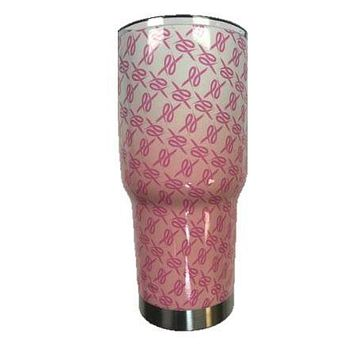 Faded Pink Ribbons Tumbler Warehouse Tumbler