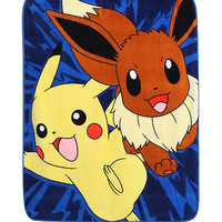 Pokemon Pikachu Eevee Throw