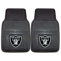 Fanmats 2-pk. Oakland Raiders Car Floor Mats (Gray)