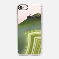 Lime Agate iPhone 7 Case by Lisa Argyropoulos | Casetify