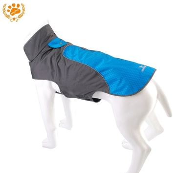 My Pet Waterproof dog clothes Outdoor Reflective Strip Dog Jacket Winter Warm Breathable costumn Plus Size Clothes For Dog 12012