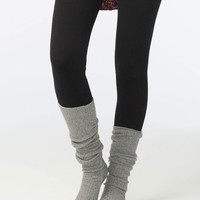 FULL TILT Marled Cuffed Womens Knee High Socks | Socks