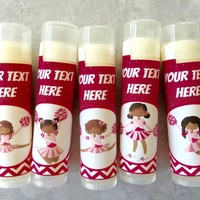 Cheerleading Custom Lip Balm – Free Customization