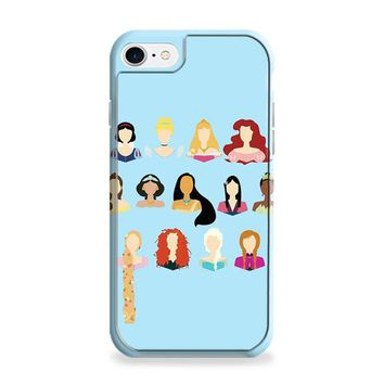 Disney All Princess No Face iPhone 6 Plus | iPhone 6S Plus Case