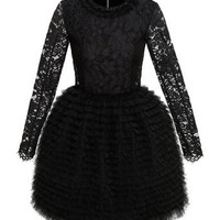 Isabella Lace Moulded Dress