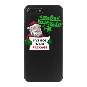 heapy new year funny santa claus christmas iPhone 7 Plus Case