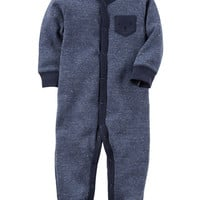 Bear Snap-Up Thermal Sleep & Play