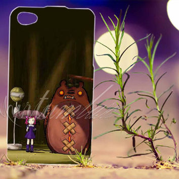 My Neighbor Tibbers - Photo Print for iPhone 4/4s, iPhone 5/5s/5C, Samsung S3 i9300, Samsung S4 i9500 Hard Case