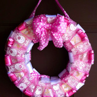 Baby Girl Wreath for Hospital Room Door