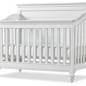 Amias Convertible Crib, White, Cribs
