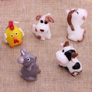 Cartoon Animal zodiac candles Kids Birthday Candle Party Cake Candle Decoration Romantic Home Decoration Handmade Crafts