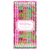 Lilly Pulitzer Pencil Set | Lifeguard Press