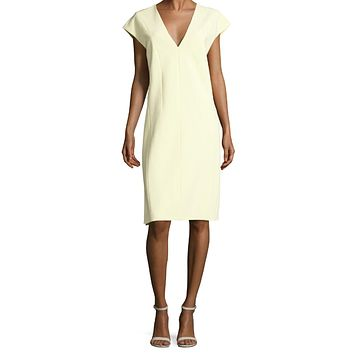 Bond Crepe Dress