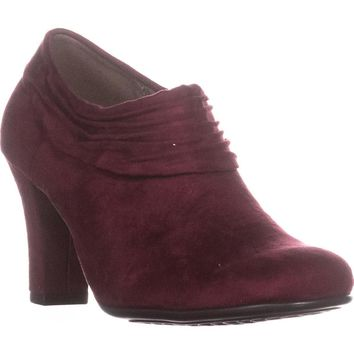 Aerosoles Starring Role Ankle Booties, Wine, 7.5 US