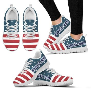 Marine Mom Shoes Custom Printed Sneakers