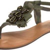 Naughty Monkey Women's Congratulations Thong Sandal