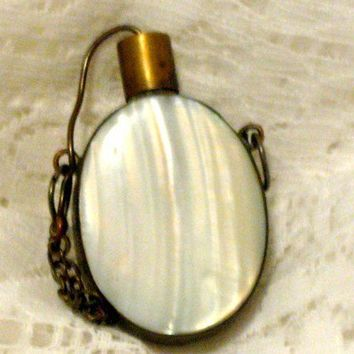 Vintage Perfume Scent Pendant by vintagegrrl77 on Etsy