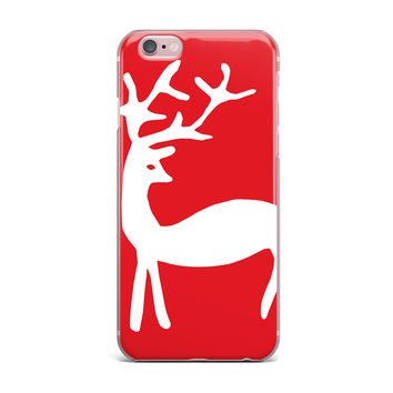 "Miranda Mol ""Reindeer Red"" Holiday iPhone Case"