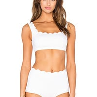 Palm Springs Bikini Top in Off White