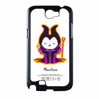 Hello Kitty Love Maleficent Disney Samsung Galaxy Note 2 Case