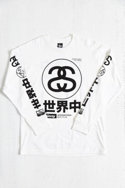 1ed0769d6 Stussy Japan International Long-Sleeve from Urban Outfitters