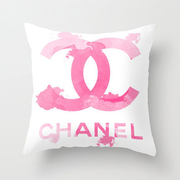 Chanel Logo - Throw Pillow