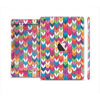 The Color Knitted Full Body Skin Set for the Apple iPad Mini 2