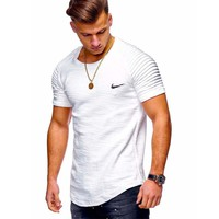 New Brand Casual O-neck Short sleeve Men's T Shirt