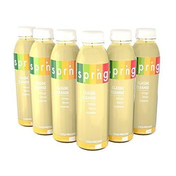 Cold-Pressed Maple Lemonade Cayenne Cleanse, Master Cleanse Detox 6 Pack 2oz bottles