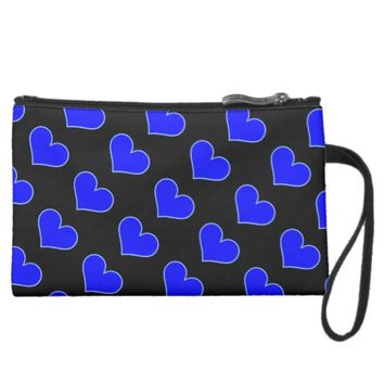 Heart Pattern Bag Wristlet Purses