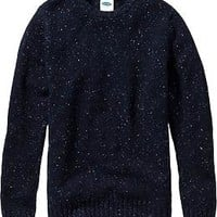 Men's Wool-Blend Crew-Neck Sweaters