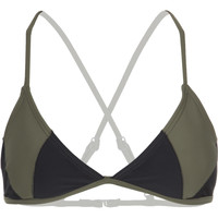 RVCA Spliced & Diced Triangle Bikini Top - Women's