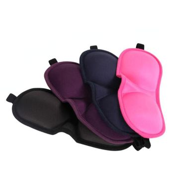 Cotton Eye Masks Travel Blindfold Sleeping Relieve Fatigue Sponge Eye Patch Rest Portable Eyeshade Cover L3