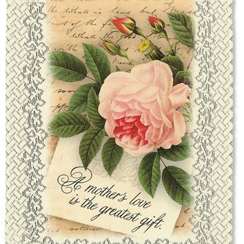 Heritage Lace Inspirational Lace Wall Hangings A Mothers Love
