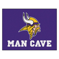 Minnesota Vikings NFL Man Cave All-Star Floor Mat (34in x 45in)