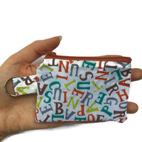 Kids Change Pouch, Keyring Coin Purse, Back to School Bag