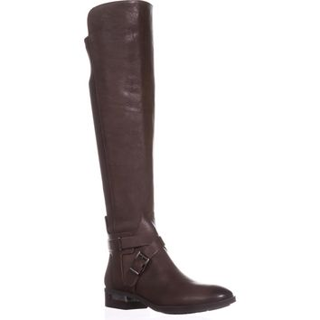 Vince Camuto Paton Flat Knee-High Fashion Boots, Sherwood Bark, 6.5 US / 36.5 EU