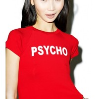 O Mighty Psycho Cropped Tee | Dolls Kill