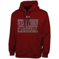 Stanford Cardinal Under Armour Performance Hoodie – Cardinal
