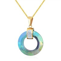 Brilliant Glass Pendant  Necklace