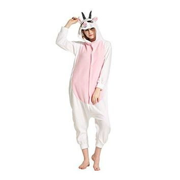 Adult Costume Cosplay Lounge Wear Kigurumi Onesuits Pajamas Goat