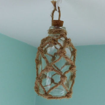 Nautical Bottle Decor