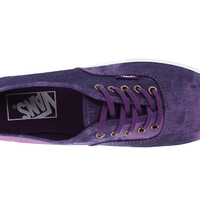 Vans Authentic™ Lo Pro (Washed Denim) Purple - Zappos.com Free Shipping BOTH Ways